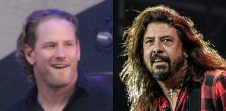 Corey Taylor (Slipknot) e Dave Grohl (Foo Fighters)