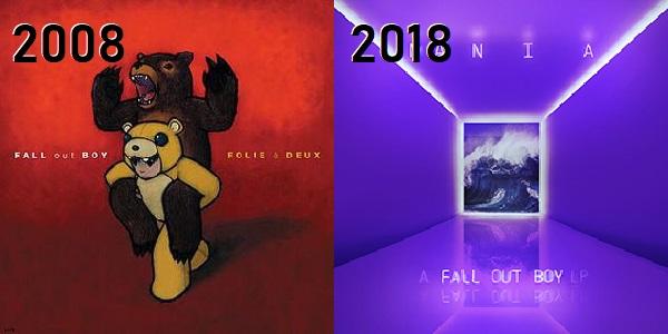 Fall Out Boy - de Folie à Deux até M.A.N.I.A.
