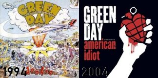 Green Day - de Dookie até American Idiot