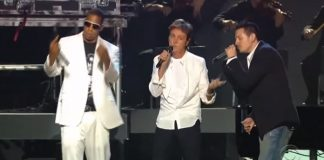 Jay-Z, Paul McCartney, Linkin Park no Grammy