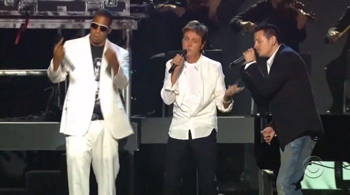 Jay-Z, Paul McCartney, Linkin Park no Grammy