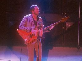 John Entwistle do The Who em 1981