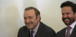 Kevin Spacey sendo julgado