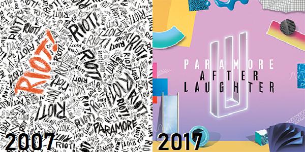 Paramore - de Riot! até After Laughter