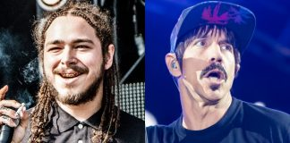 Post Malone e Anthony Kiedis (Red Hot Chili Peppers)