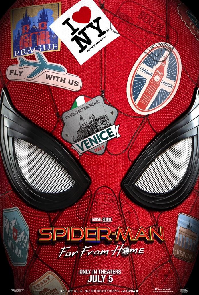 Poster Homem-Aranha Longe de Casa