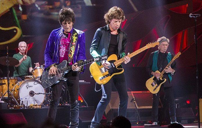 Rolling Stones ao vivo