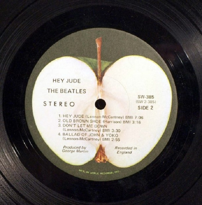 Single Hey Jude Beatles