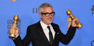 Alfonso Cuarón no Globo de Ouro 2019