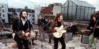 The Beatles no rooftop da Apple
