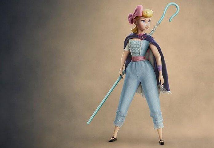 Betty (Bo Peep) em Toy Story 4