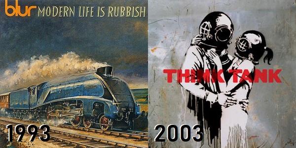 Blur - de Modern Life Is Rubbish até Think Tank