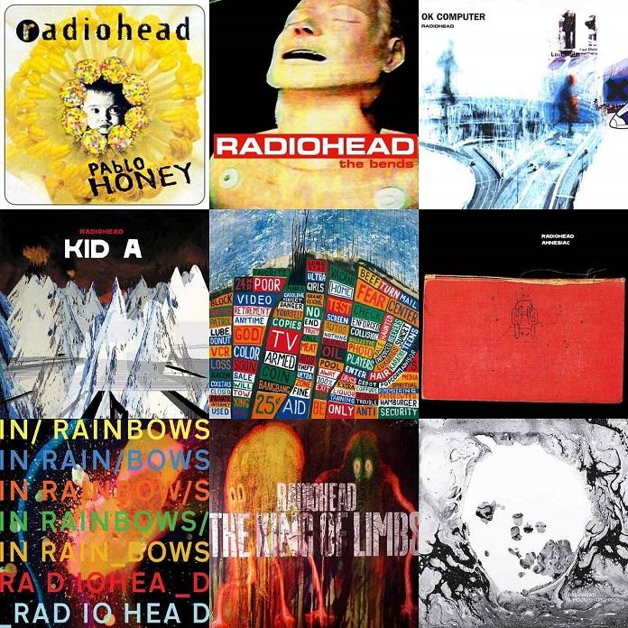Resultado de imagem para Radiohead disponibiliza todos os álbuns no YouTube