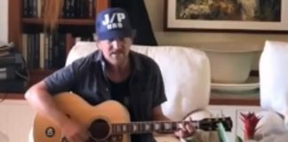 Eddie Vedder no Havaí em 2019