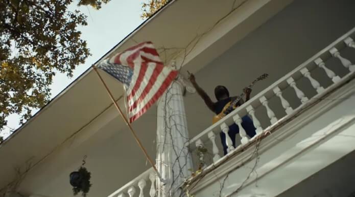 Gary Clark Jr. no clipe de This Land
