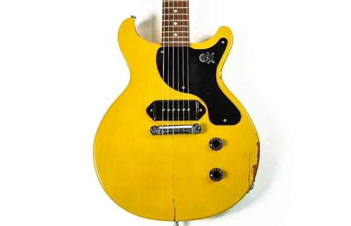 Gibson Les Paul Junior de Billie Joe em leilão