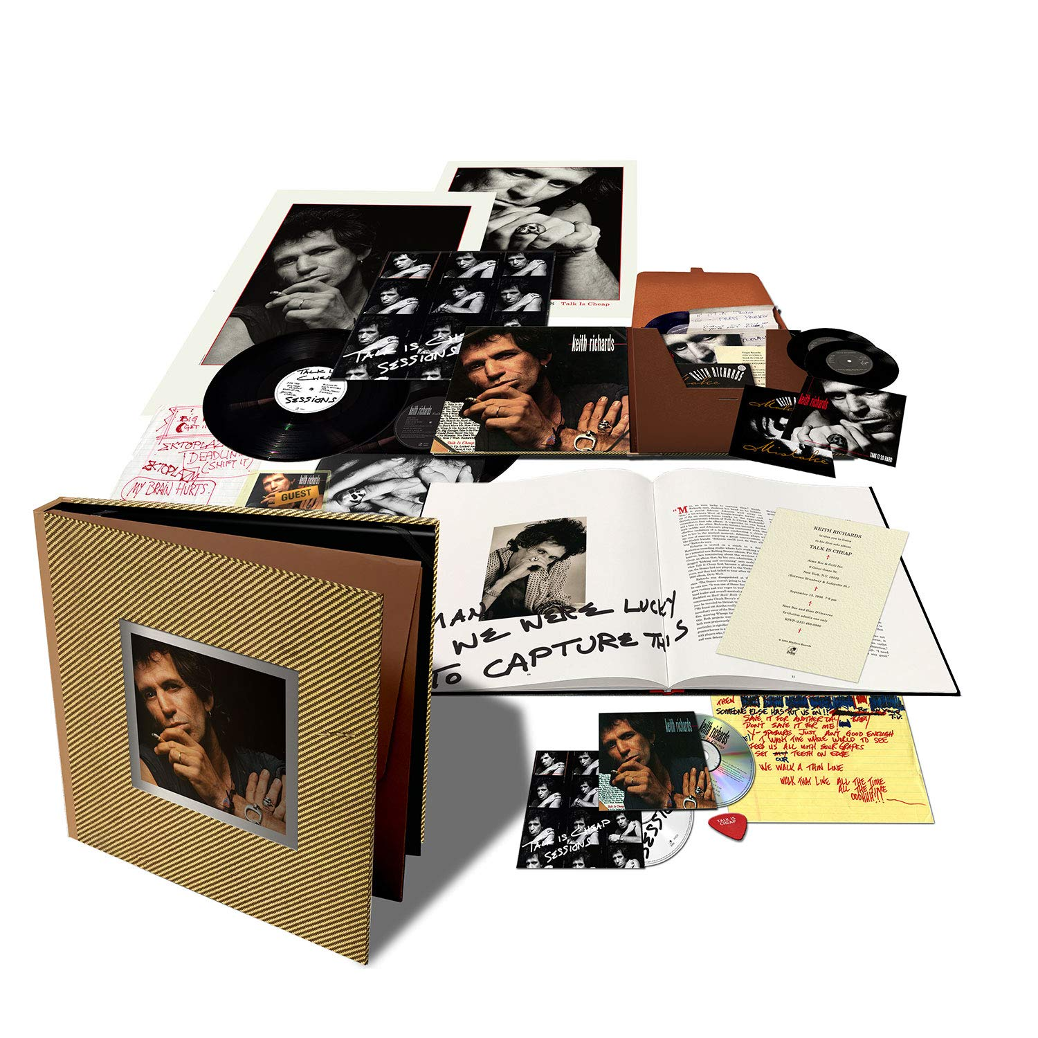 """Keith Richards """"Talk Is Cheap"""" Deluxe"""