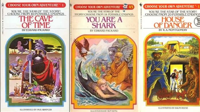 Livros da série Choose Your Own Adventure
