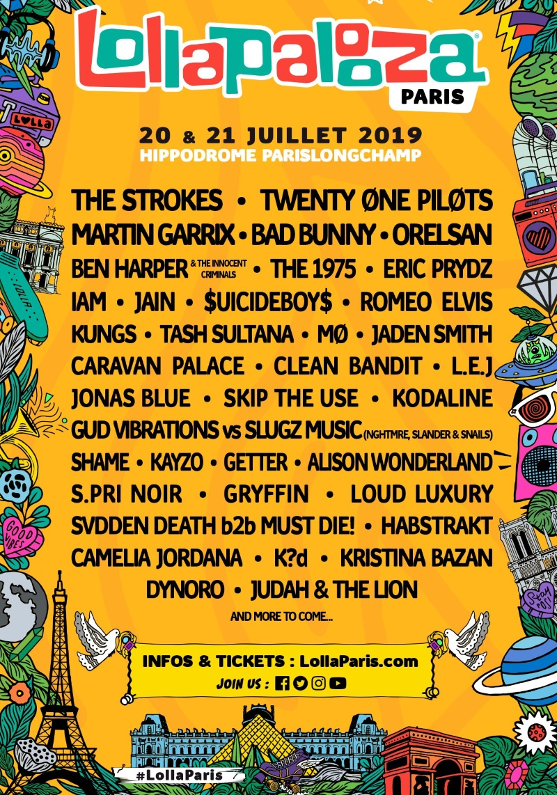Lollapalooza Paris 2019