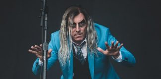 Maynard James Keenan com o A Perfect Circle no Rock Im Park 2018 (Tool)