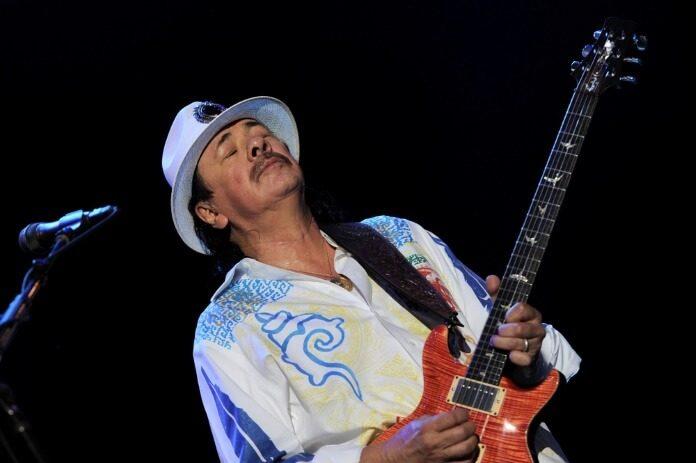 Santana em 2013