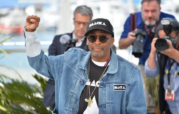 Spike Lee em Cannes, 2018