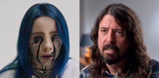 Billie Eilish e Dave Grohl (Foo Fighters)