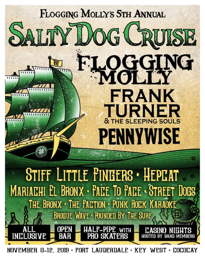 Flogging Molly - Salty Dog Cruise 2019