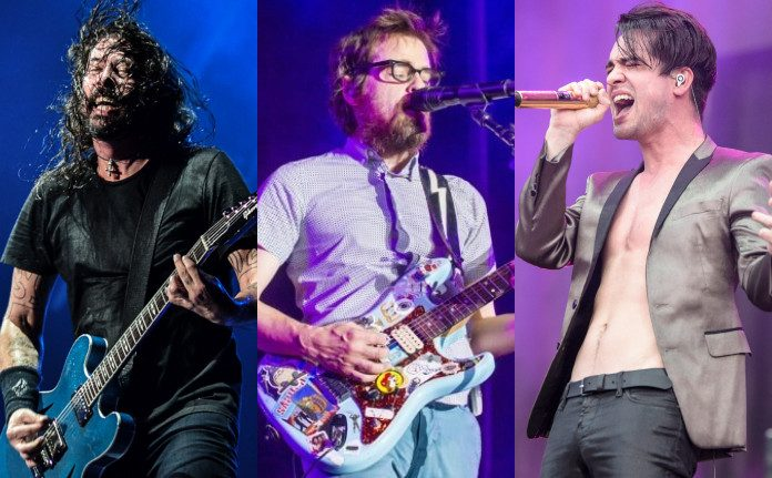 Foo Fighters, Weezer e Panic at the Disco