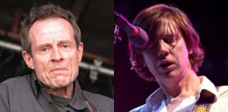 John Paul Jones (Led Zeppelin) e Thurston Moore (Sonic Youth)