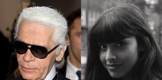 Karl Lagerfeld e Jameela Jamil