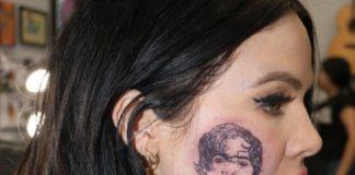 Kelsy Karter Tatuagem Harry Styles