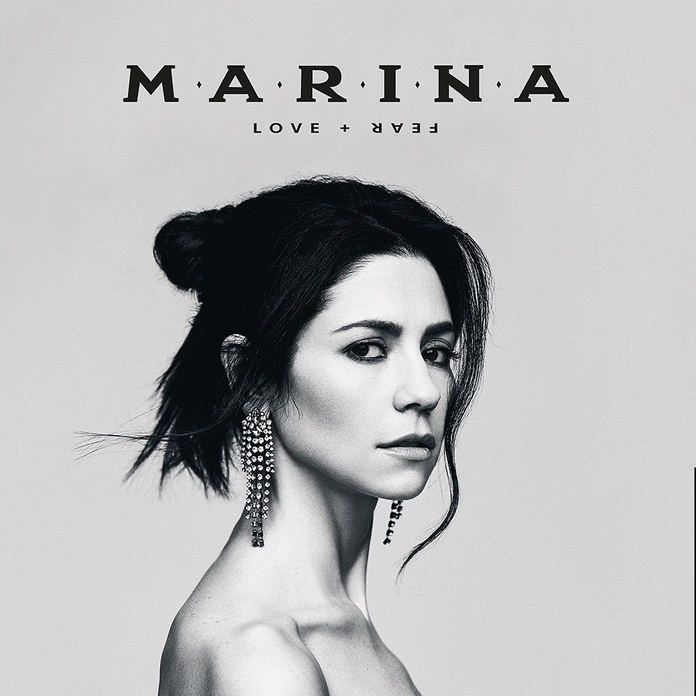 Marina, capa alternativa do disco Love + Fear