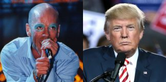 Michael Stipe (R.E.M.) e Donald Trump