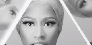 Nicki Minaj no vídeo de Hard White.
