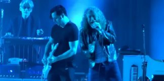 Robert Plant (Led Zeppelin) e Jack White