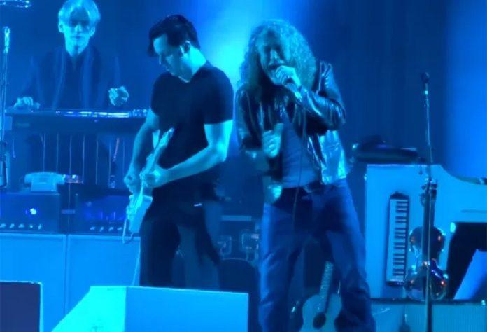 Robert Plant (Led Zeppelin) e Jack White