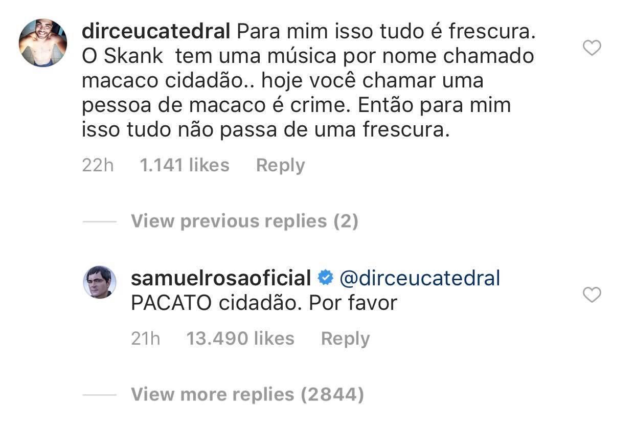 Samuel Rosa Macaco Cidadão 2