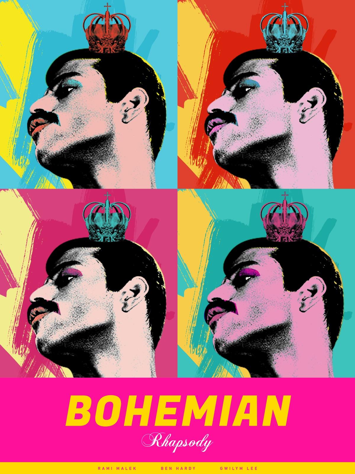 Pôster alternativo de Bohemian Rhapsody
