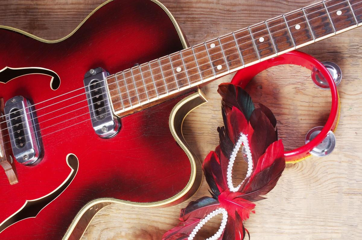 Carnaval com guitarras