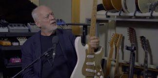 David Gilmour e a guitarra base de Another Brick In The Wall