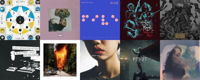 Discos de Fevereiro, 2019