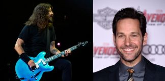 Dave Grohl e Paul Rudd