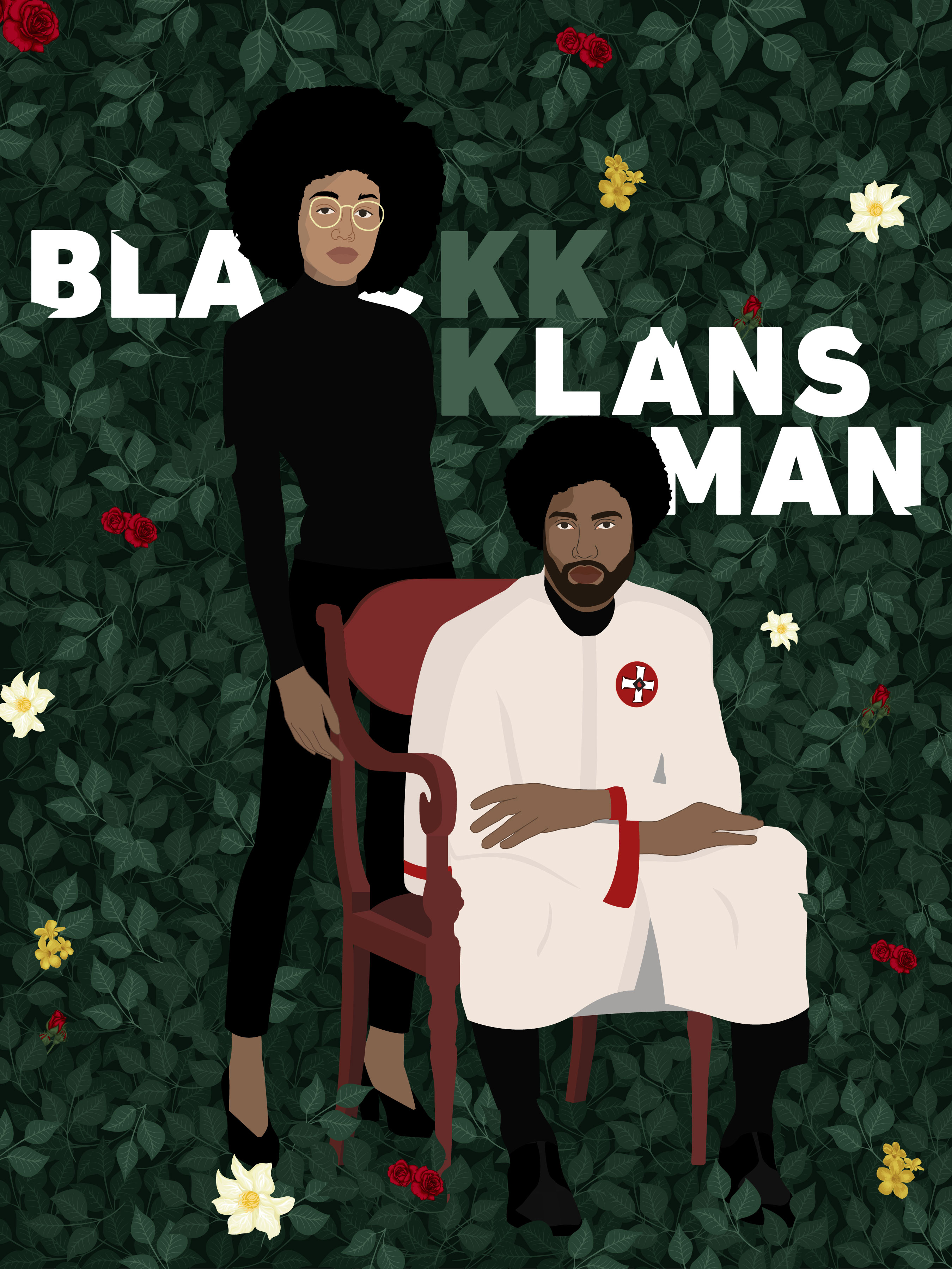 Pôster alternativo de Infiltrado na Klan