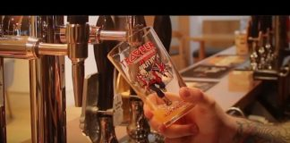 Cerveja do Iron Maiden na pressão