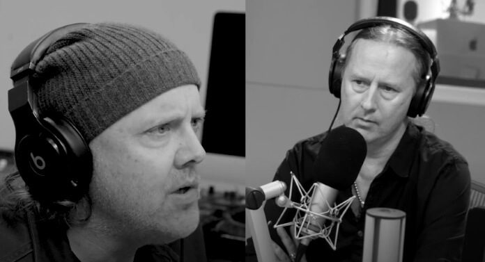 Lars Ulrich e Jerry Cantrell