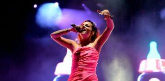 Lily Allen no festival de Benicassim, 2014