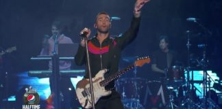 Maroon 5 no Super Bowl 2019