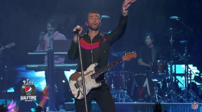 Maroon 5 no Super Bowl 2019