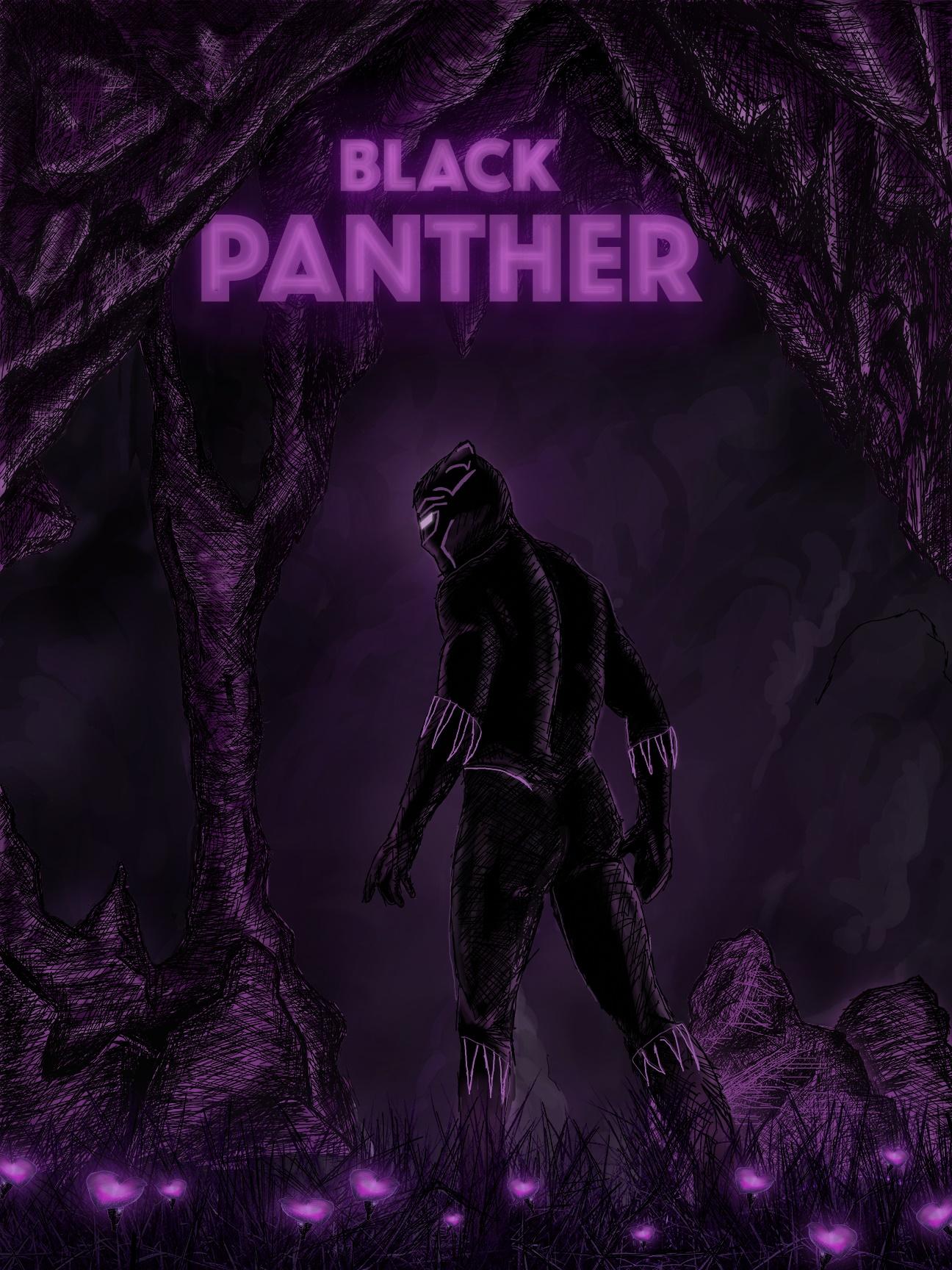 Pôster alternativo de Pantera Negra